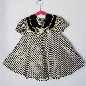 NWT Rose Cottage Gingham Party Dress 24 mos